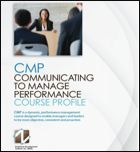 Communicating to Manage Performance Course Profile