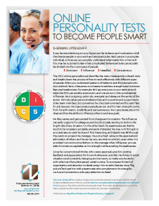 Online Personality Tests